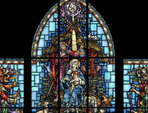 The Holidays in Stained Glass